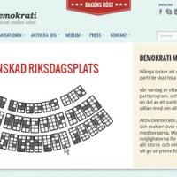 Aktiv Demokrati får ny webbplats!