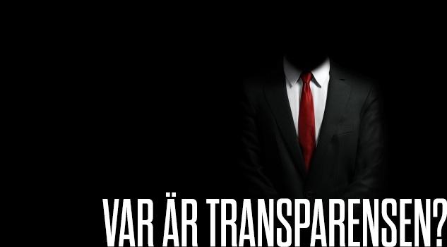 Var är transparensen?