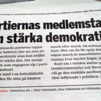 Direktdemokrati ska bryta passiviteten